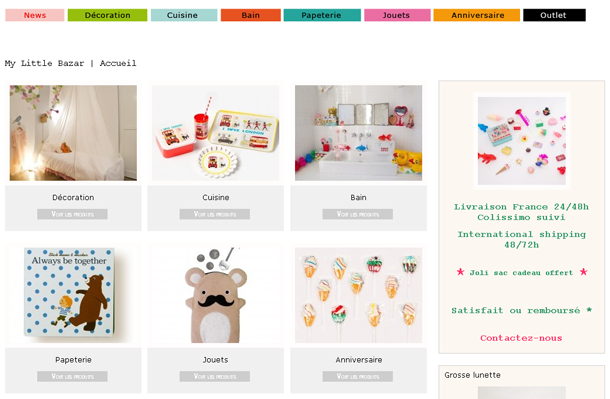 Mobilier  enfant My Little Bazar