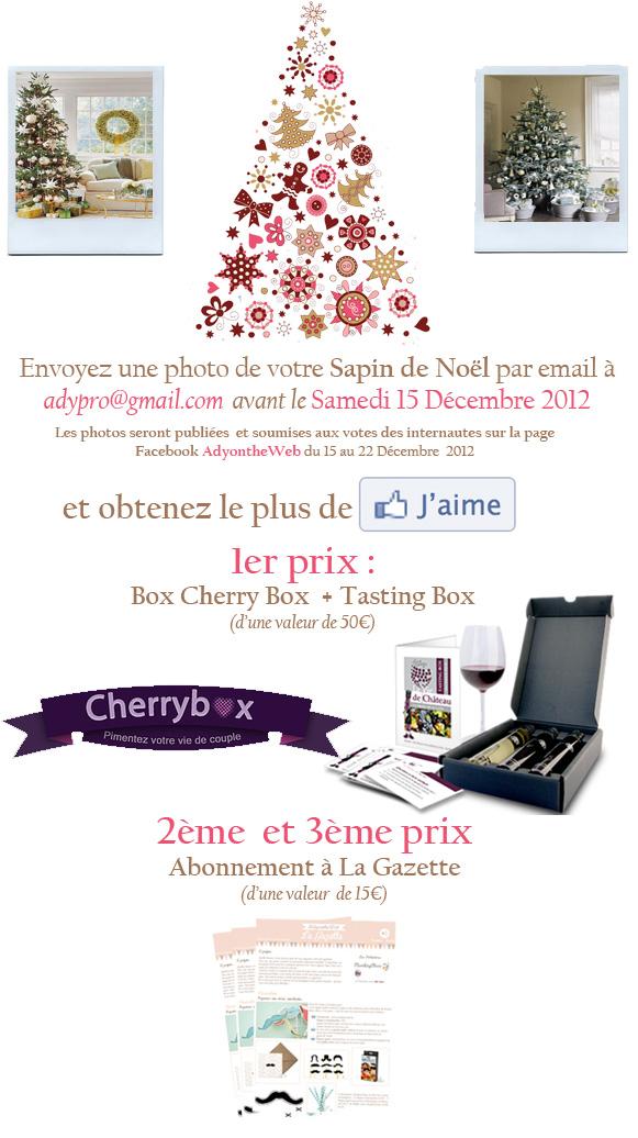 Concours Mon Beau Sapin