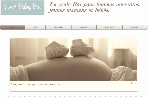 Box maman : Sweet Baby Box