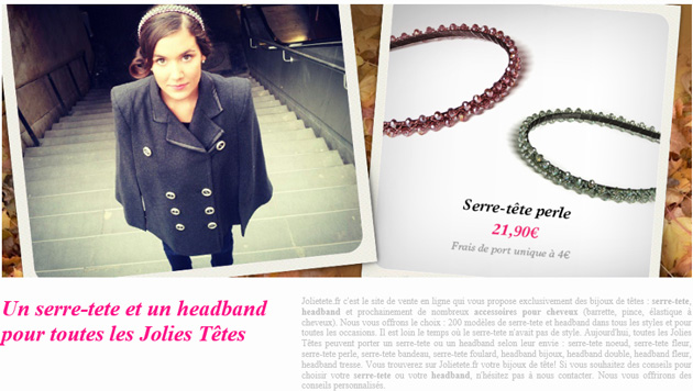 HeadBand - Jolie Tête