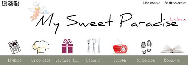 Box gastronomie - My Sweet Paradise