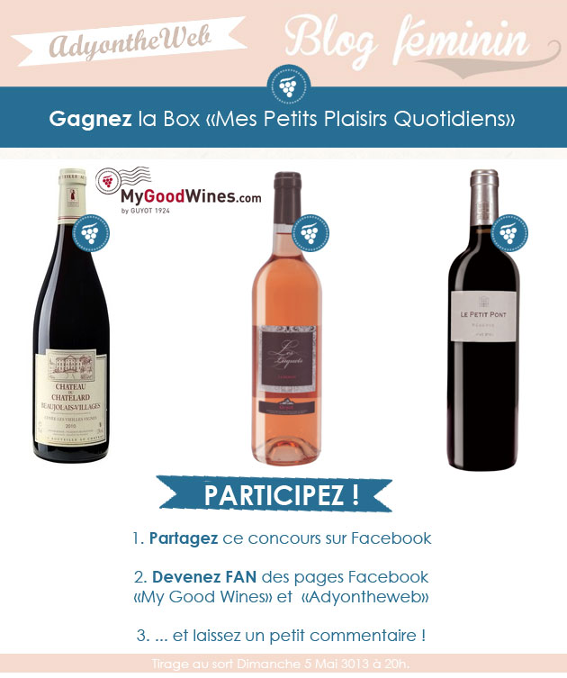 concours mygoodwines