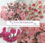 Fleurs en papier IamRoses