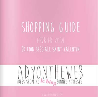 shoppingguide édition saint valentin